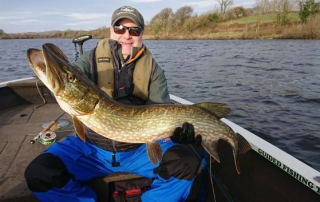 Pike on the fly