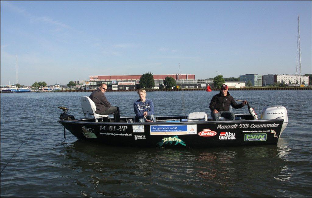 Fishing on Wheels