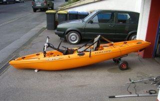 Zu Verkaufen: Native Watercraft Mariner 12,5 mit Ladehilfe und Zubehör