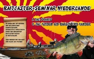Baitcaster-Seminar