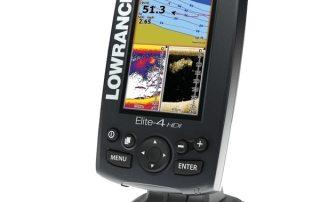 Elite™ -4 HDI Kartenplotter / Farbecholot
