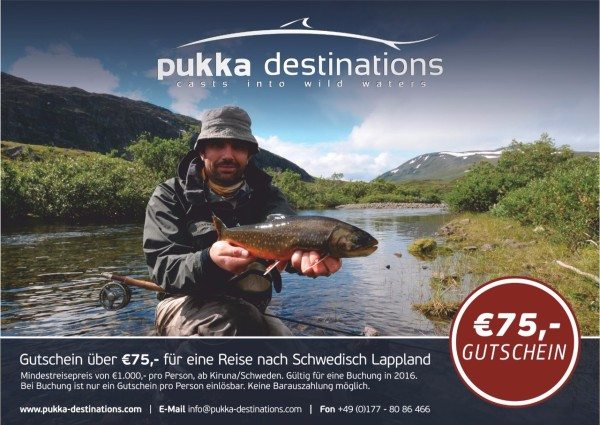 pukka destinations und das RISE Fly Fishing Film Festival 2016