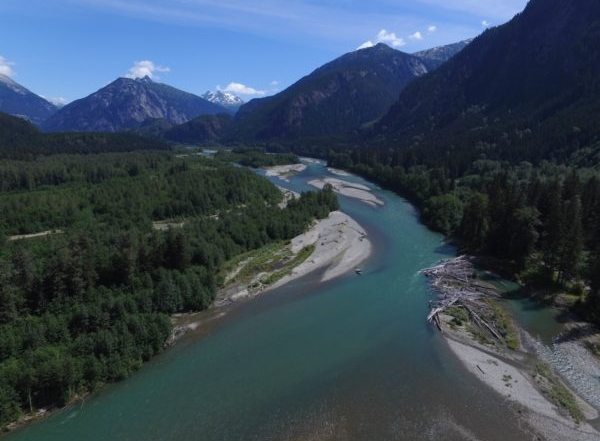 Fliegenfischen in BC, Kanada, auf Steelhead und Pazifiklachs: neue Destination!